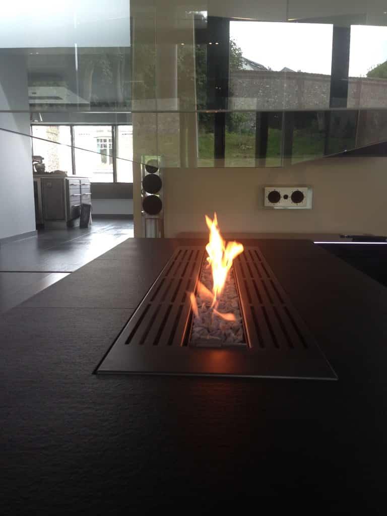 Foyer gaz ouvert à paris   art & feu