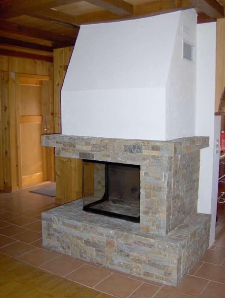 chemin e en pierres de roche choex art feu. Black Bedroom Furniture Sets. Home Design Ideas