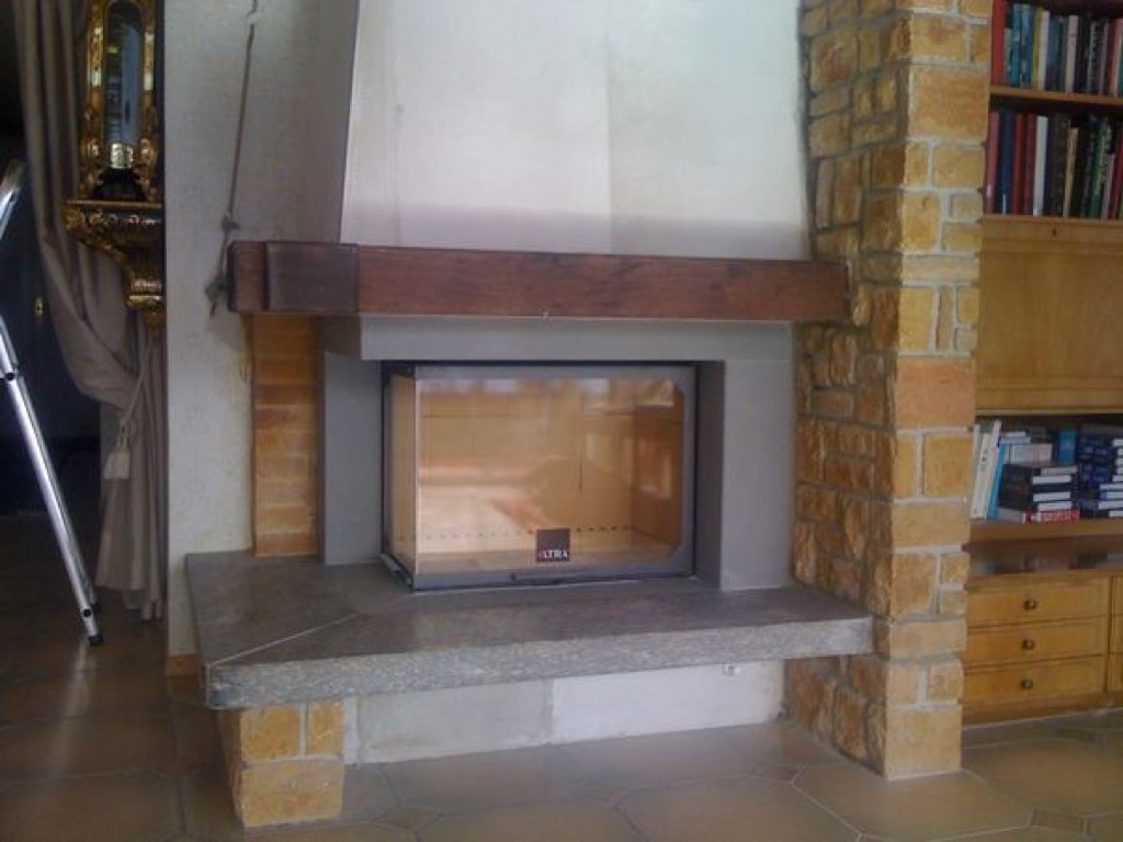transformation en granit gris lupirana montreux art feu. Black Bedroom Furniture Sets. Home Design Ideas