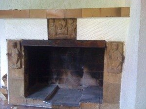 Moderniser une chemine ancienne porquoi rnover une - Comment renover une cheminee en pierre ...
