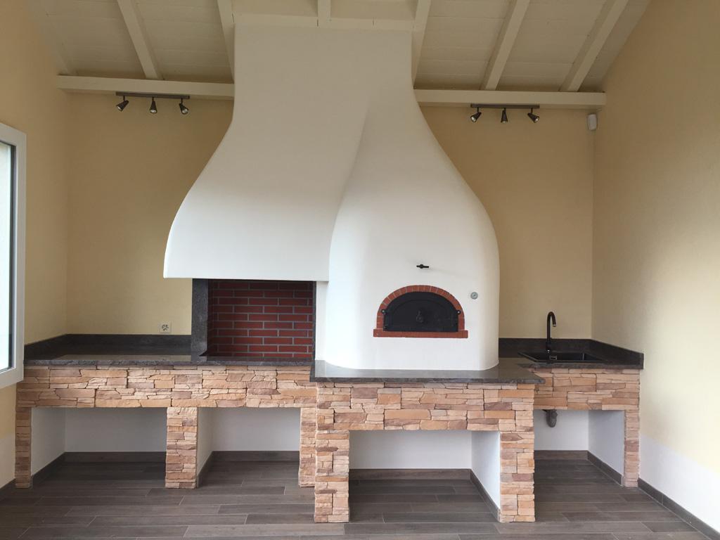 barbecue et four pizza veytaux art feu. Black Bedroom Furniture Sets. Home Design Ideas