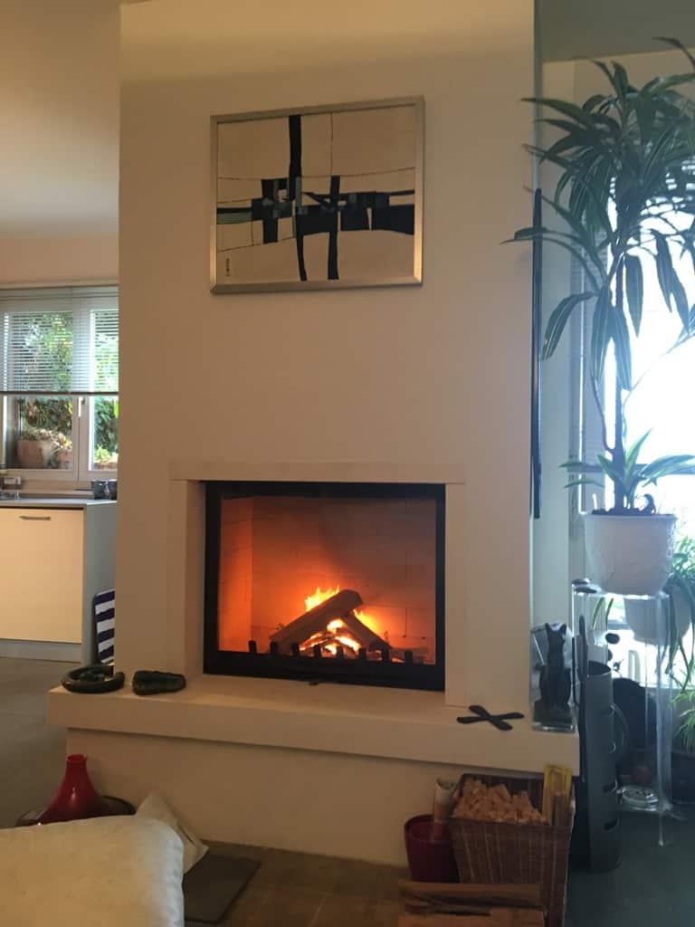 d montage d 39 une chemin e afin de la moderniser montreux art feu. Black Bedroom Furniture Sets. Home Design Ideas