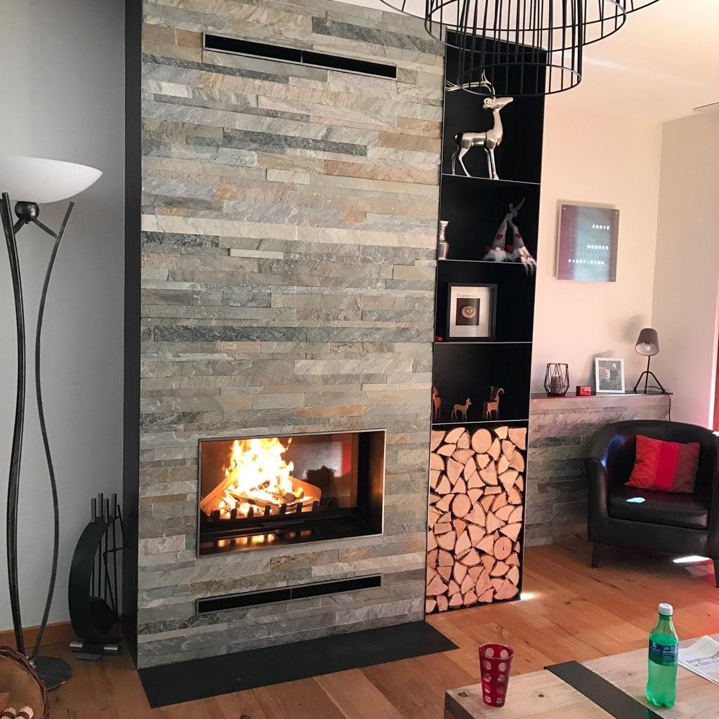 coffrage chemine ancienne installer un insert bches ou. Black Bedroom Furniture Sets. Home Design Ideas
